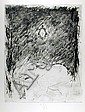 Donald Saff, Elephant, Etching, Donald Saff, Click for value