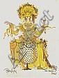 Bjorn Wiinblad, Iris The Heavenly Bow, Offset Print, Bjorn Wiinblad, Click for value