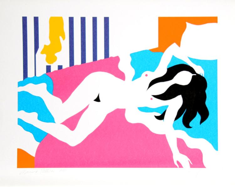 Michael Young, Morning Pattern, Serigraph