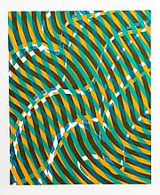 Stanley Hayter, Op-Art Abstract 1 from the Aquarius Suite, Silkscreen