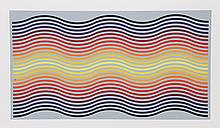Jurgen Peters, Rainbow Waves, Serigraph