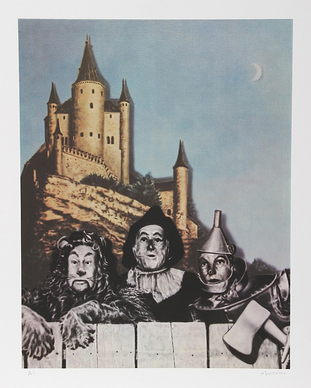 Robert Anderson, Courage-Wizard of Oz, Lithograph