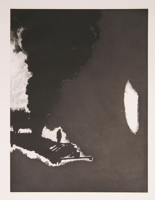 Donald Newman, Expulsion, Etching