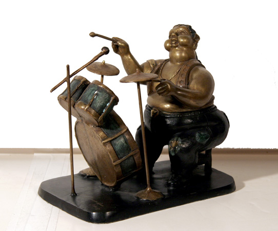 Bruno Luna, Baterista (Drummer), Bronze Sculpture