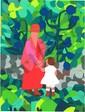 Gloria Vanderbilt, Mother and Child, Lithograph, Gloria Vanderbilt, Click for value