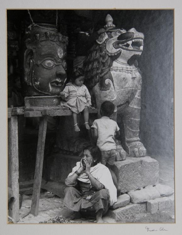 Theodore Cohen, A Temple in Kathmandu, Photograph