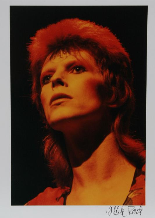 Mick Rock, David Bowie, Color Photograph
