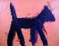 Peter Mayer, Dog Painting 2, Acrylic Painting, Peter Bela Mayer, Click for value