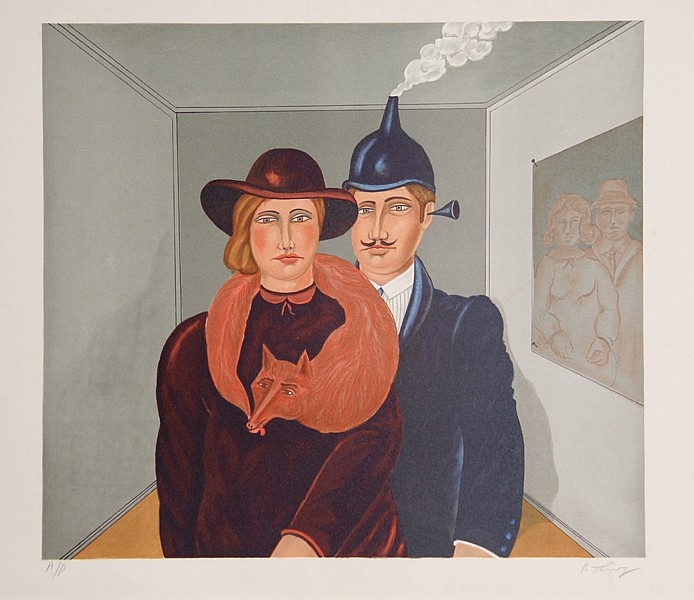 Benjamin Levy,  New Family Portrait, Lithograph