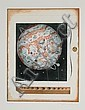 Tighe O'Donoghue,  Saturn and Moons, Aquatint Etching, Tighe O'Donoghue, Click for value