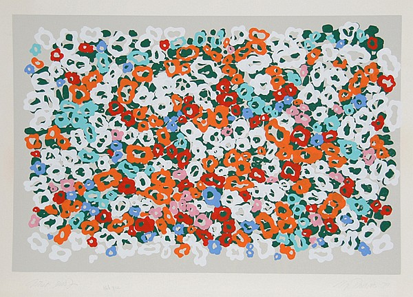 Nadine Prado, White Space, Serigraph