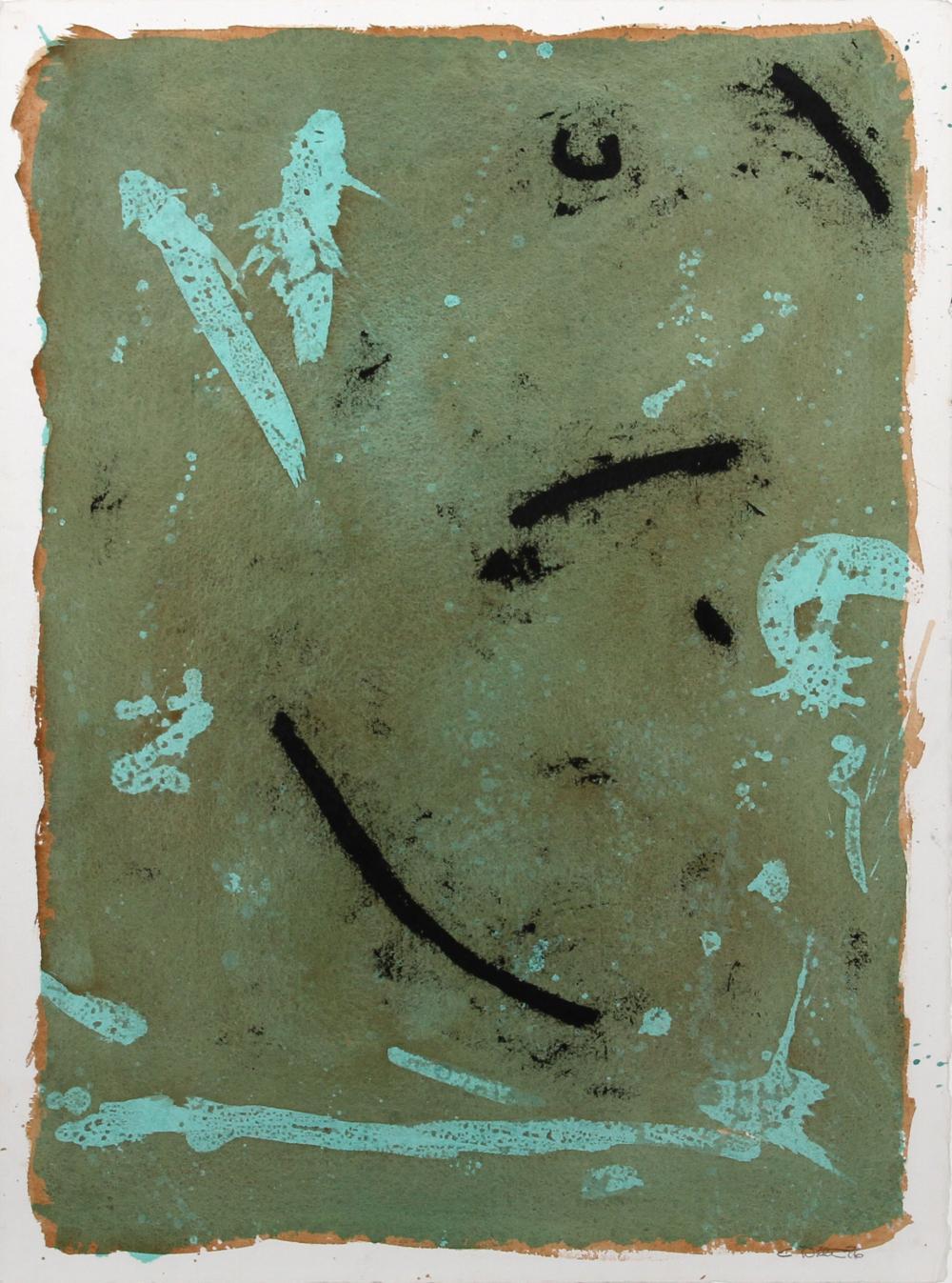 Kit (aka Christopher) White, Sweet Cyprus 2, Acrylic Painting