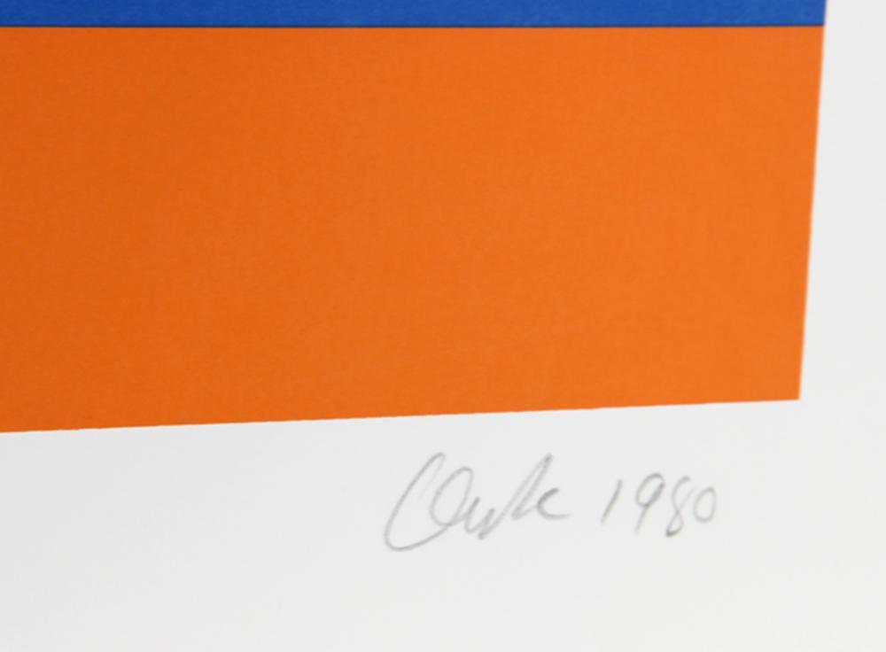 Pierre Clerk, Morocco Series #10, Serigraph