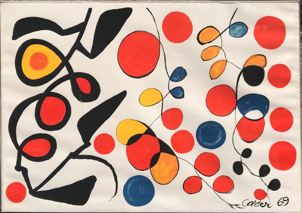 Alexander Calder, Spring Carnival, Lithograph