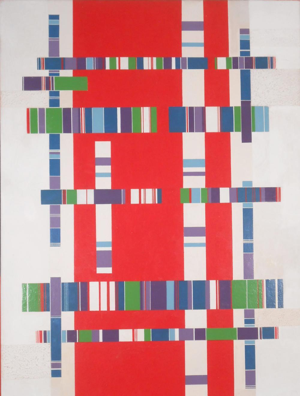 BONO, The Crossings No. 4, Acrylic Painting
