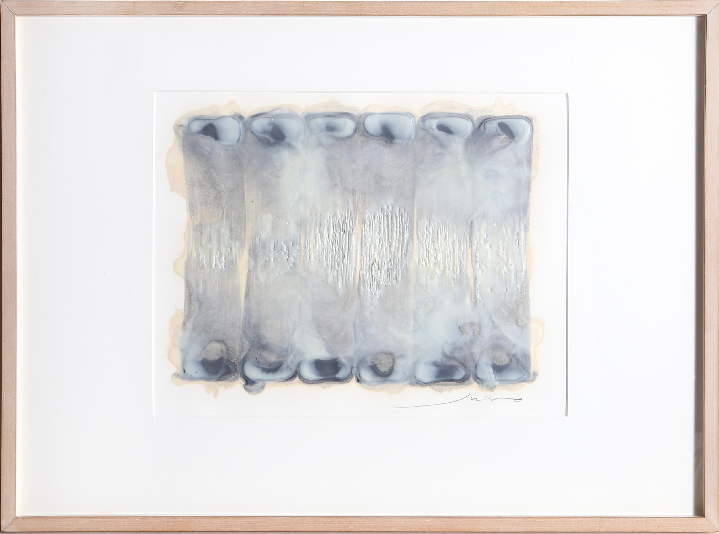 Juhachiro Takada, Untitled III, Encaustic, Sand on Canvas