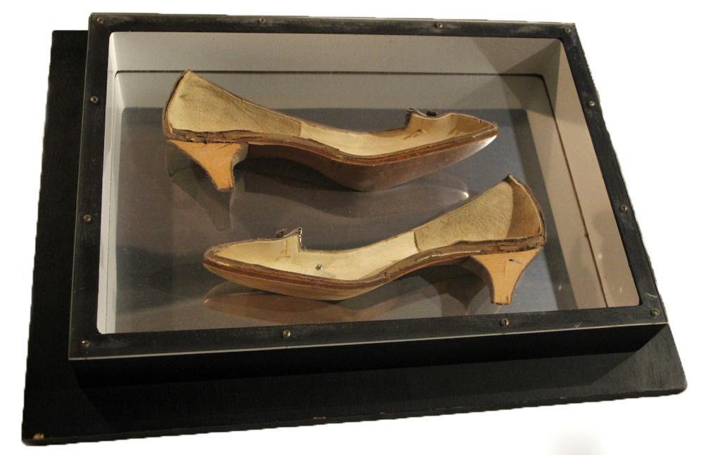 Arman, Shoes, Accumulation of Shoes in Plexiglas Sculpture