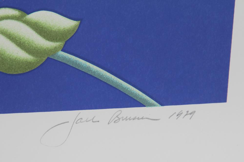 Jack Brusca, Sweet Violet, Serigraph