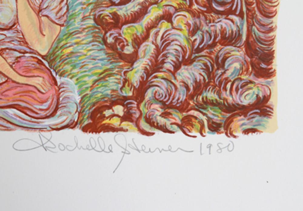 Rochelle Steiner, Everything Speaks When You Listen, Lithograph