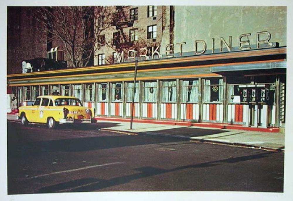 John Baeder, Market Diner, Serigraph