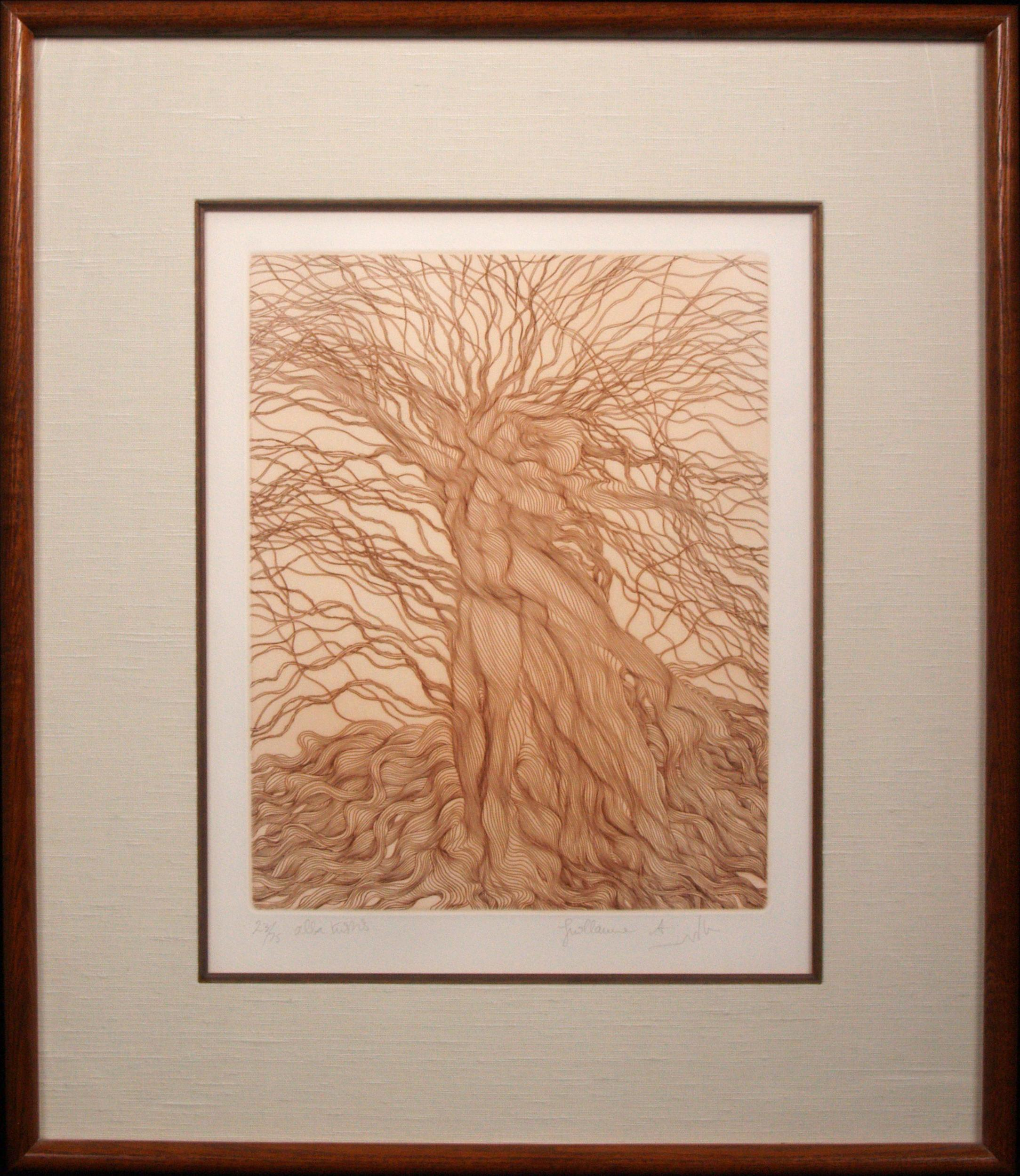 Guillaume Azoulay, Alba Tristis, Etching