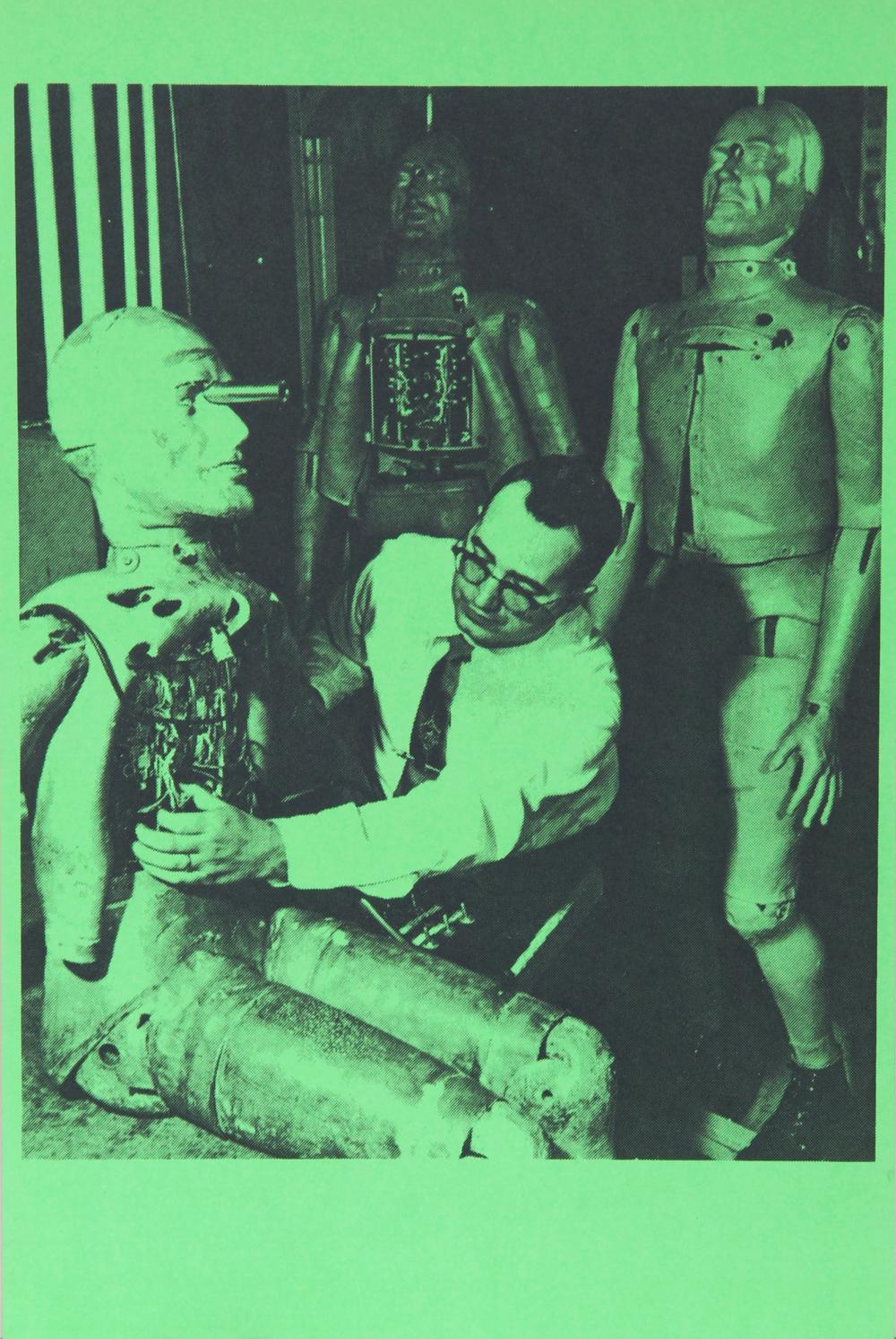 Eduardo Paolozzi, Watch Out for Miracles New Hope for Better Babies, Photolithograph