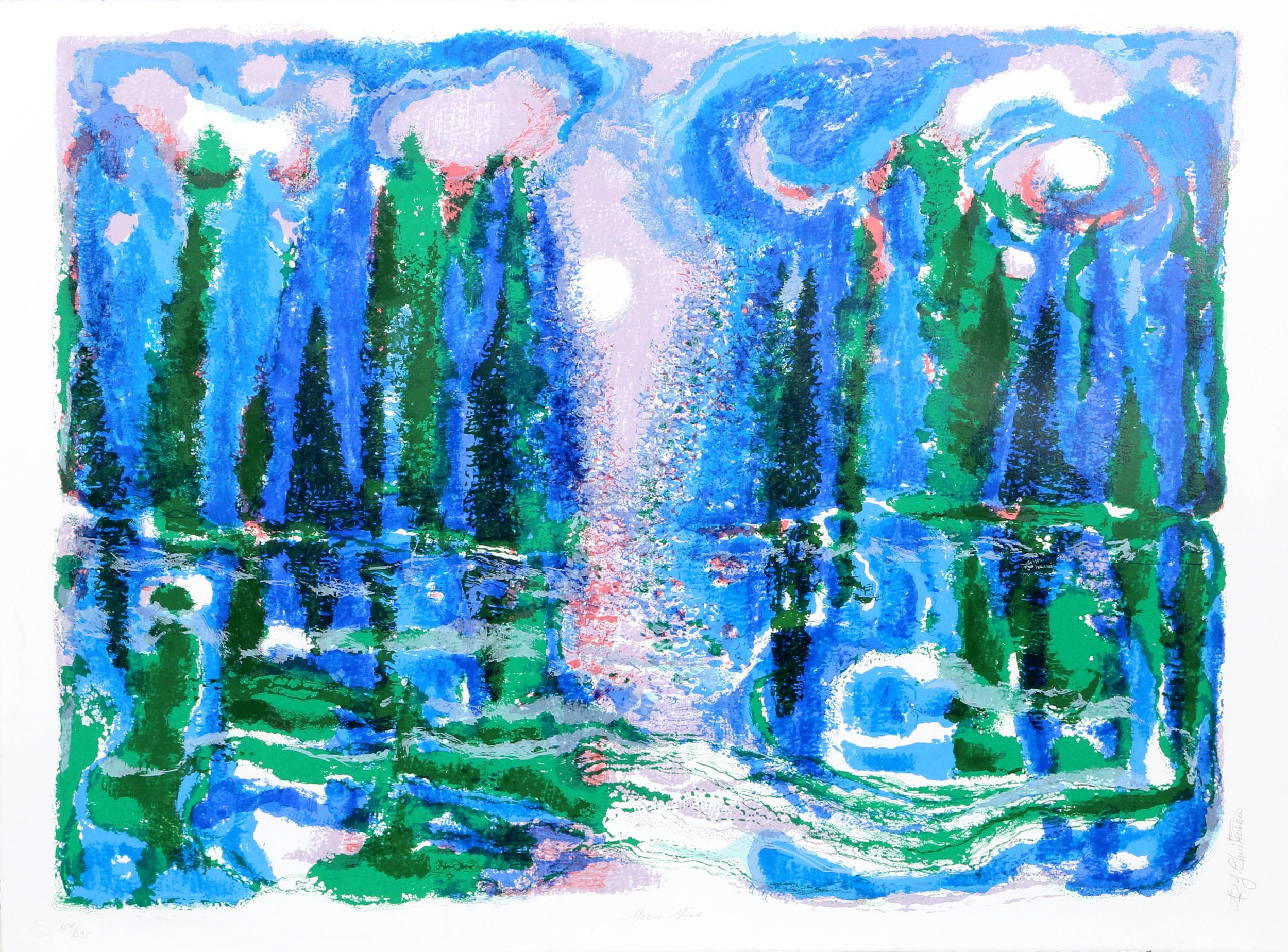 Ronald Julius Christensen, Moon Mist, Lithograph