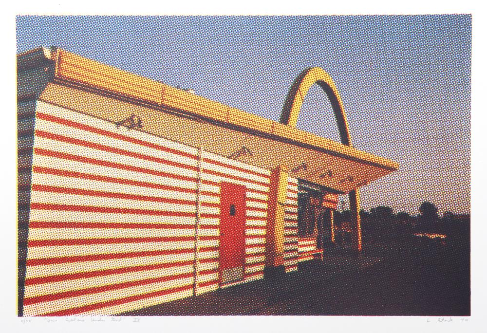 Larry Stark, IX - McDonald's (Side View) from One Culture Under God, Photo Screenprint
