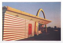 Larry Stark, IX - McDonald's (Side View) from One Culture Under God, Photo Screenprint