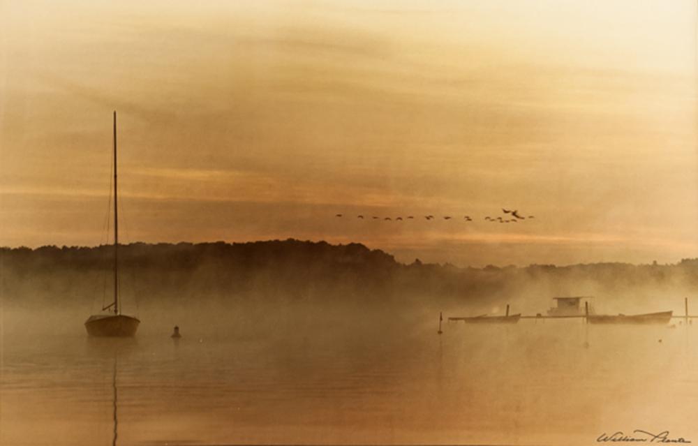William Plante, Boats at Sunrise, Color Photograph