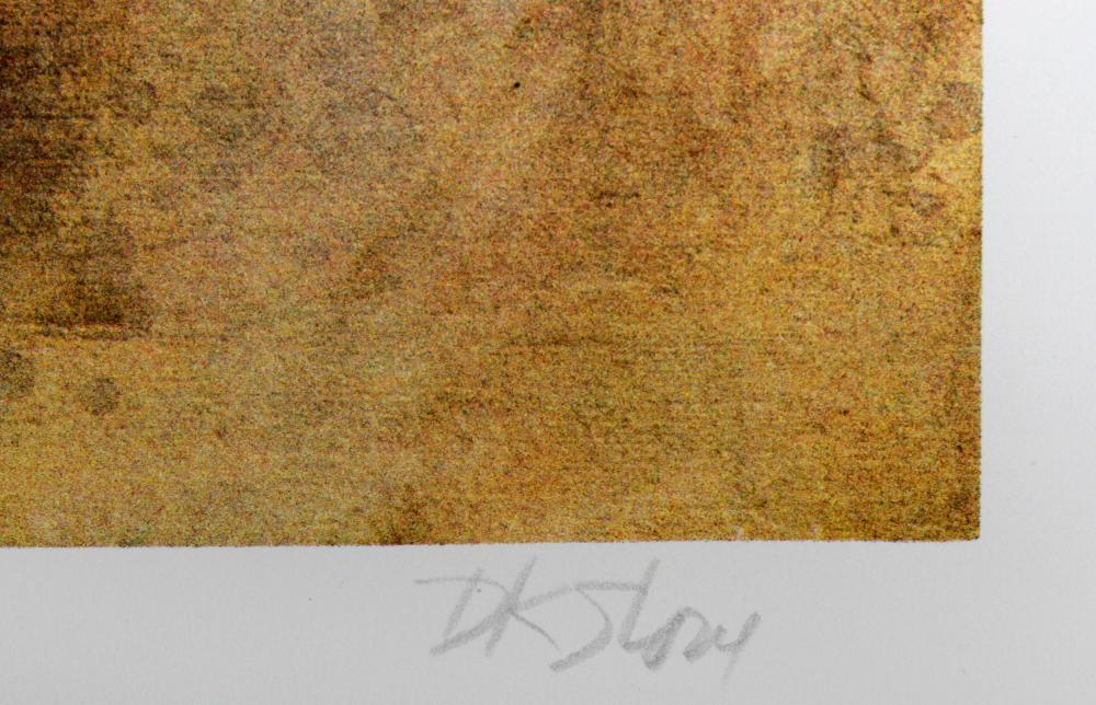 David K. Stone, Sweet Cheeks (Kelly), Lithograph