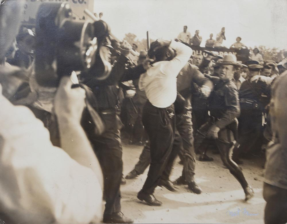 Nat Fein, Civil Rights Riot, Photograph