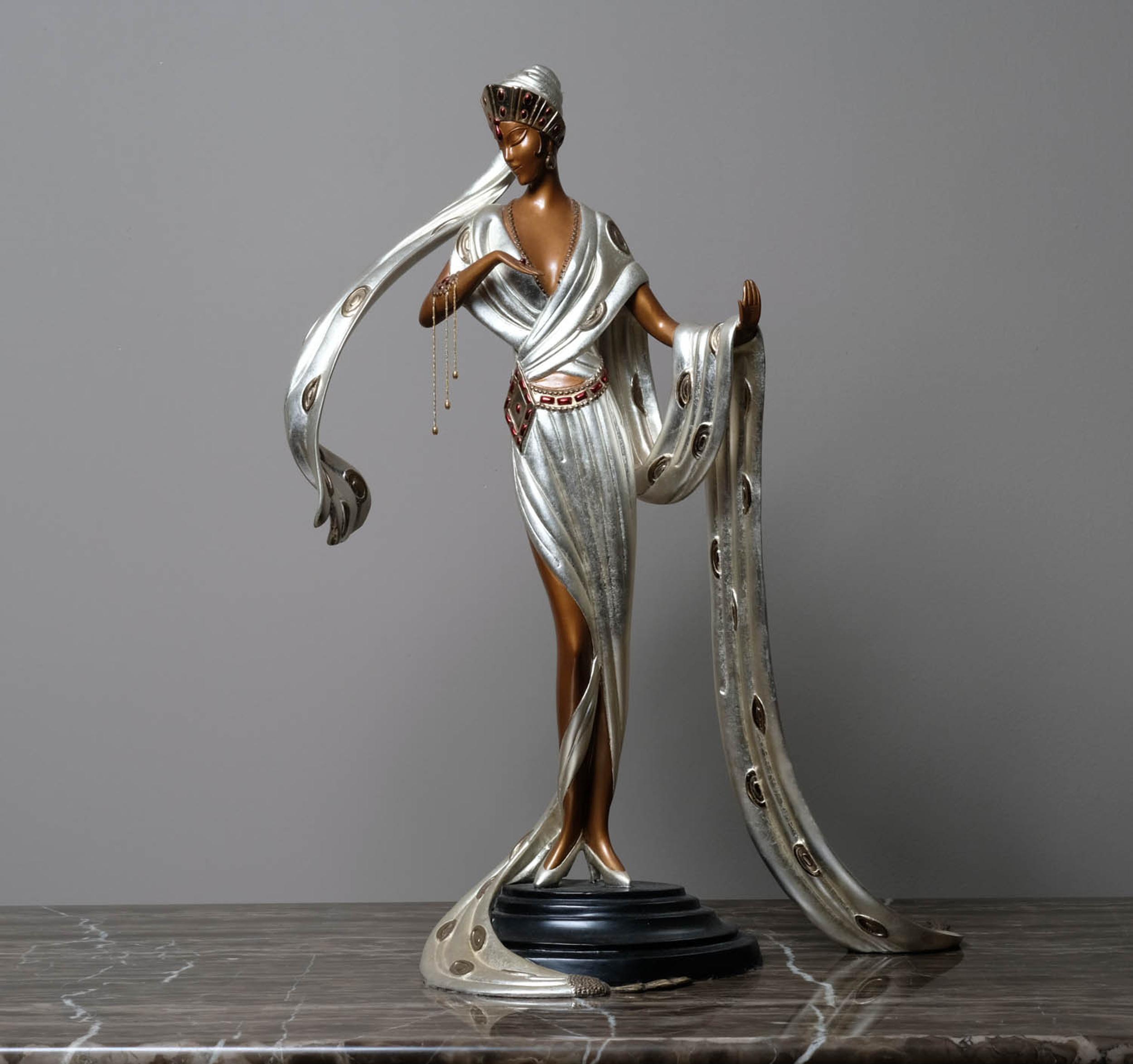 Erte, Scheherazade, Bronze Sculpture