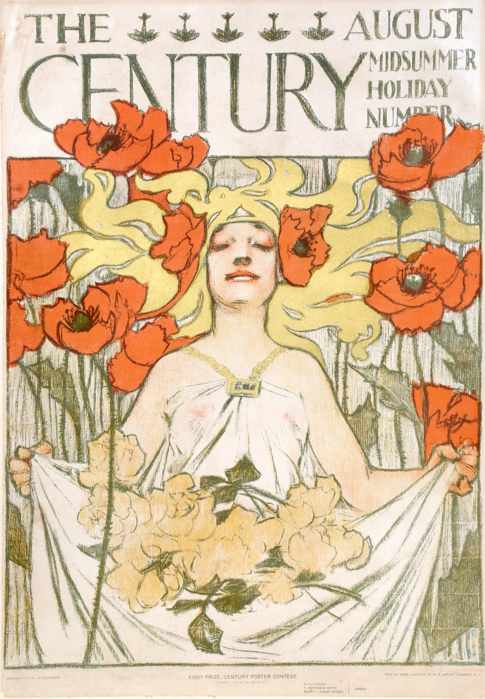 Joseph Christian Leyendecker, The Century - Midsummer Holiday Number, August, Poster