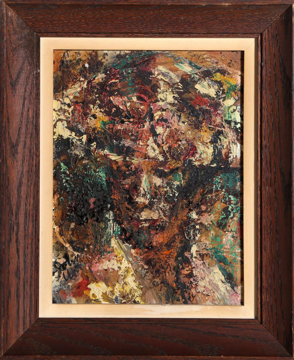 John Uht, Portrait of a Woman, Oil Painting