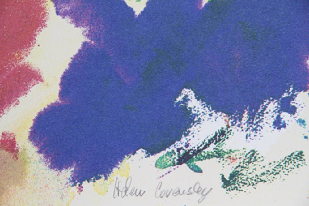 Helen Covensky, When The Rain Is Over And Gone, Lithograph