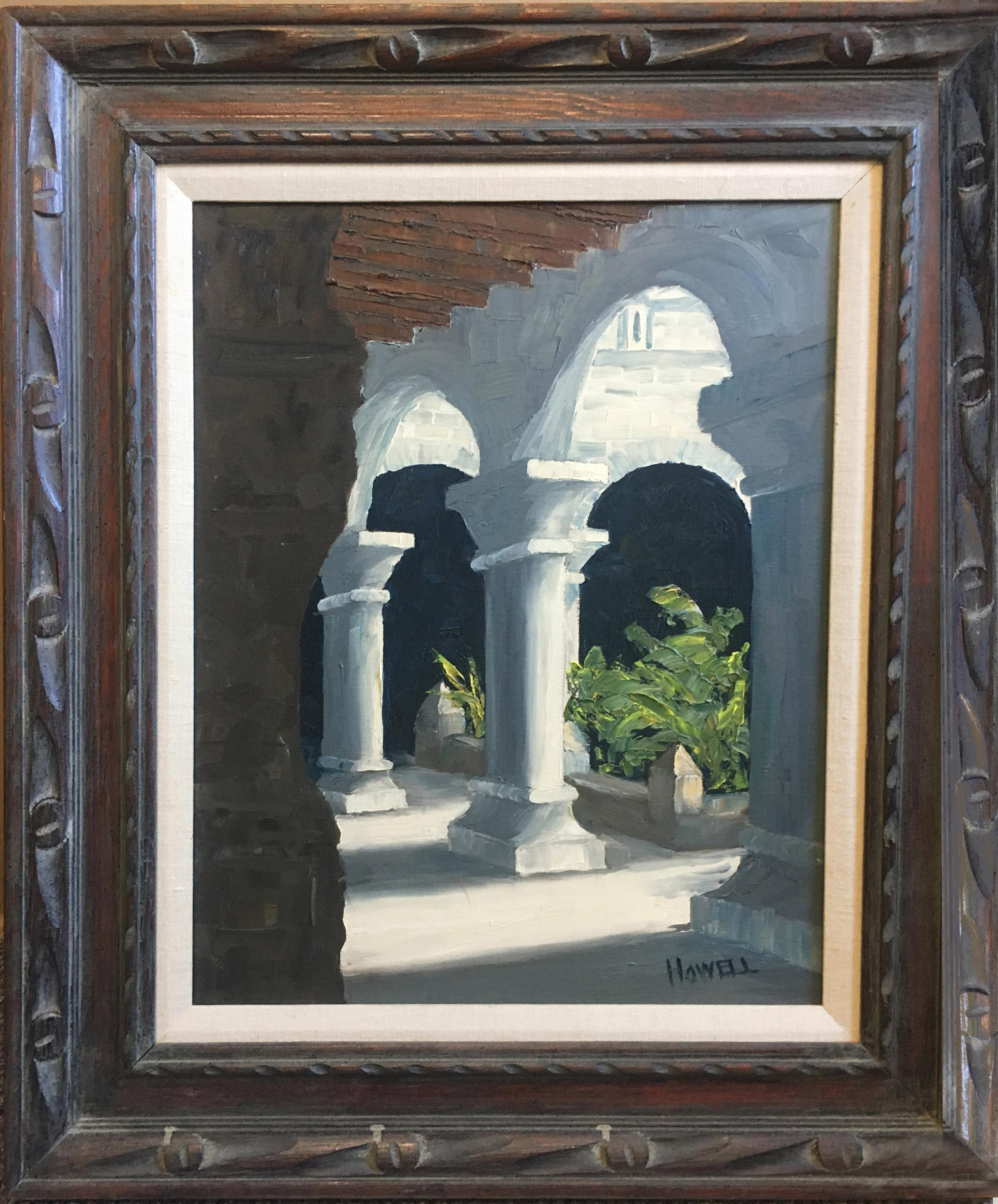 Raymond Howell, Arches, Oil Painting