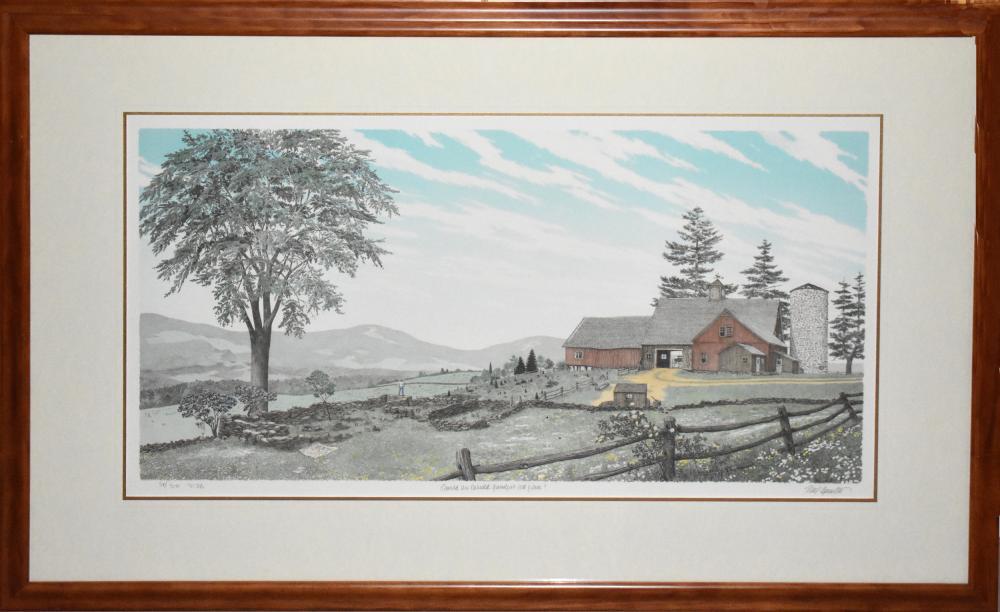 Mel Hunter, Should We Rebuild Grandpa's Old Place, Lithograph
