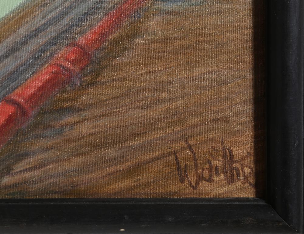 William Waithe, Marina, Oil Painting