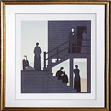 Will Barnet, Waiting, Offset Lithograph
