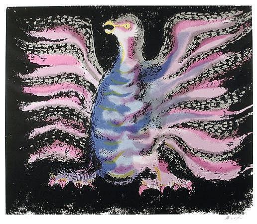 Victor Delfin, Condor, Serigraph
