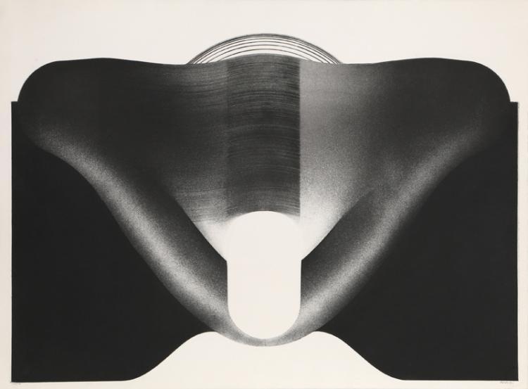 Christian Fossier, untitled 2, Aquatint Etching