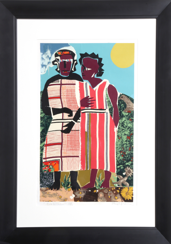bearden women Romare bearden: man of many parts a new exhibition showcases bearden's innovative collages and stakes a claim for him in the pantheon of 20th-century american artists.