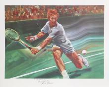 Robert Peak, Rod Laver, Sports Illustrated Living Legends, Lithograph