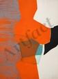 Gilou Brillant, Abstract Aquatint Etching with Carborundum, GIlou Brillant, Click for value