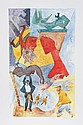 Chaim Gross, Summer Fancy, Lithograph
