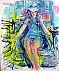 Dimitrie Berea, Miss Israel, Oil Painting