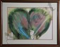 Lamar Briggs, Floral Abstract, Lithograph, Lamar A. Briggs, Click for value