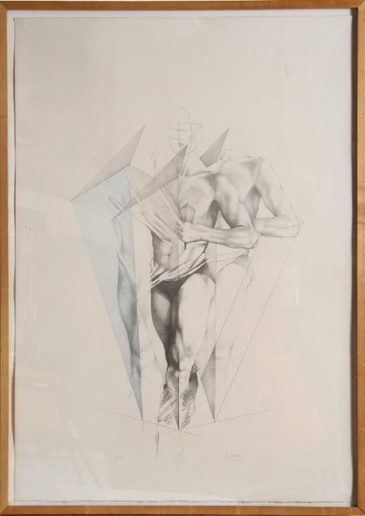 Helene Guetary, Move III, Lithograph