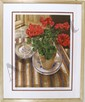 Sandra Lawrence, Geranium, Lithograph, Sandra Lawrence, Click for value